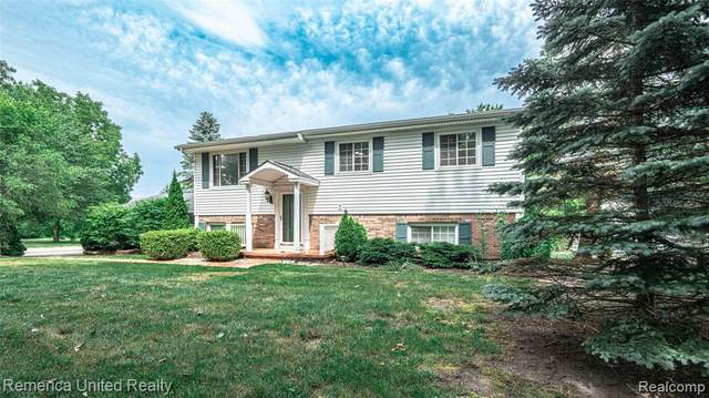 1784 Byron Road, Howell Twp, MI 48855 (#2200053944) :: The Mulvihill Group