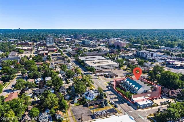 1021 Washington Avenue J, Royal Oak, MI 48067 (#2200054098) :: GK Real Estate Team