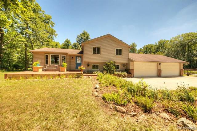 7050 Pontiac Trail, Salem Twp, MI 48178 (#2200054101) :: Novak & Associates