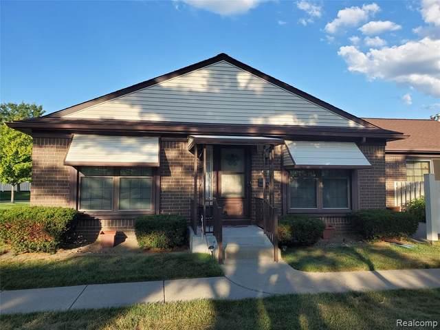 40326 Newport Drive, Plymouth Twp, MI 48170 (#2200054263) :: Duneske Real Estate Advisors