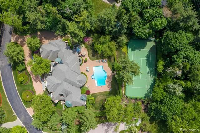 23 Hidden Ridge, Bloomfield Hills, MI 48304 (MLS #2200054322) :: The John Wentworth Group