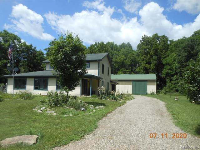 3205 Tiplady Road, Putnam Twp, MI 48169 (#2200054337) :: The Alex Nugent Team | Real Estate One