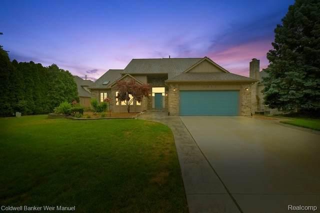 2211 S Shore Court, Rochester Hills, MI 48307 (#2200054429) :: The Alex Nugent Team | Real Estate One