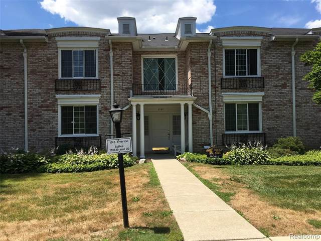 1745 Tiverton Rd Unit 20 #20, Bloomfield Hills, MI 48304 (#2200054711) :: Robert E Smith Realty