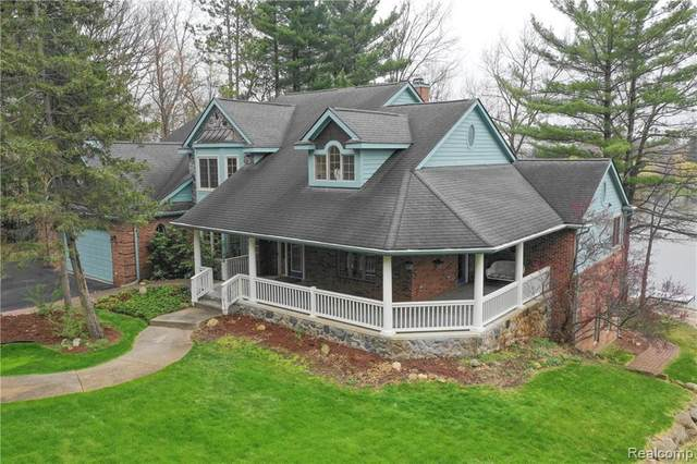 6650 Cranberry Lake Road, Independence Twp, MI 48348 (MLS #2200054776) :: The John Wentworth Group