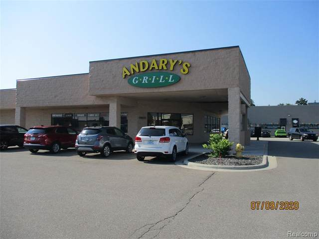 20658 Hall Road, Clinton Twp, MI 48038 (#2200054788) :: Novak & Associates
