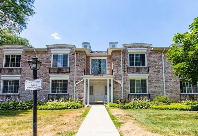 1745 Tiverton Road #19, Bloomfield Hills, MI 48304 (#2200055657) :: Novak & Associates