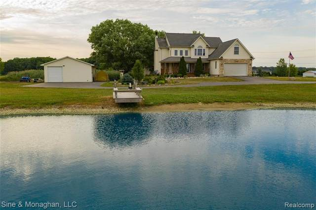2976 Midway Lane, ST. CLAIR TWP, MI 48079 (MLS #2200055949) :: The John Wentworth Group