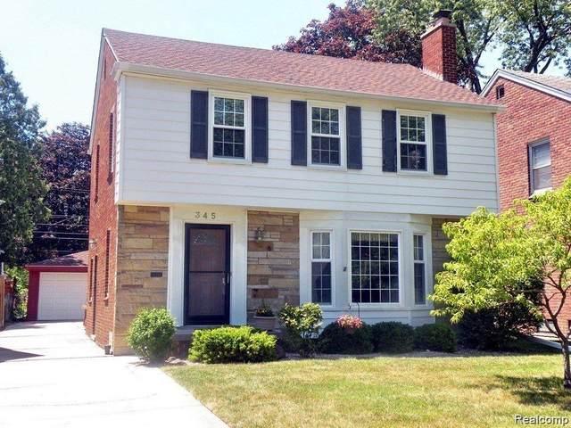 345 N Military Street, Dearborn, MI 48124 (#2200056811) :: GK Real Estate Team