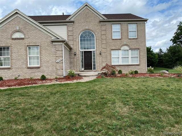 47050 Fieldview Court, Canton Twp, MI 48188 (MLS #2200056897) :: The Toth Team