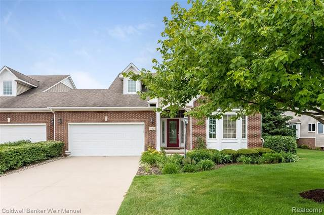342 Asbury Court, Highland Twp, MI 48357 (#2200057086) :: GK Real Estate Team