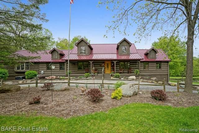 4324 N Lake Road, Columbia Twp, MI 49234 (#2200057200) :: Keller Williams West Bloomfield