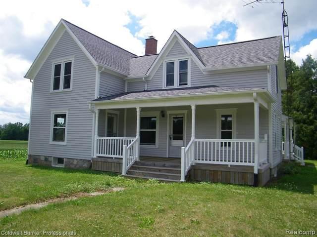 4665 Lake Pleasant Road, North Branch Twp, MI 48461 (#2200057315) :: RE/MAX Nexus
