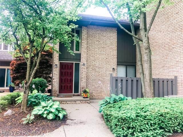 41350 Woodward Ave #6, Bloomfield Hills, MI 48304 (#2200057510) :: Keller Williams West Bloomfield