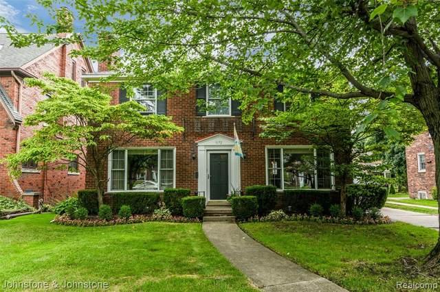 1172 Whittier Road, Grosse Pointe Park, MI 48230 (#2200057531) :: The Alex Nugent Team | Real Estate One
