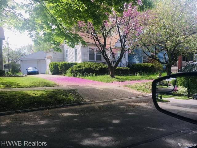 1016 Cherokee Avenue, Royal Oak, MI 48067 (#2200057700) :: RE/MAX Nexus