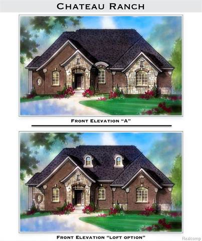 Lot 28 Lake Edge Drive, Brighton Twp, MI 48114 (#2200057958) :: Duneske Real Estate Advisors