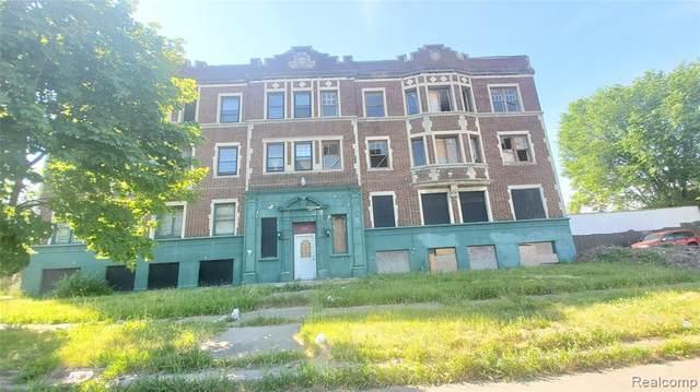 14628 Rochester Street, Detroit, MI 48206 (MLS #2200059779) :: The Toth Team