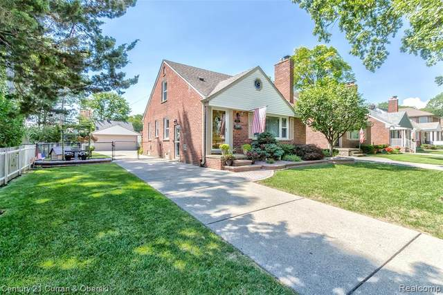 1129 N Franklin Street, Dearborn, MI 48128 (#2200060239) :: GK Real Estate Team