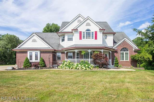 61177 Allen Drive, Lyon Twp, MI 48178 (MLS #2200060448) :: The Toth Team