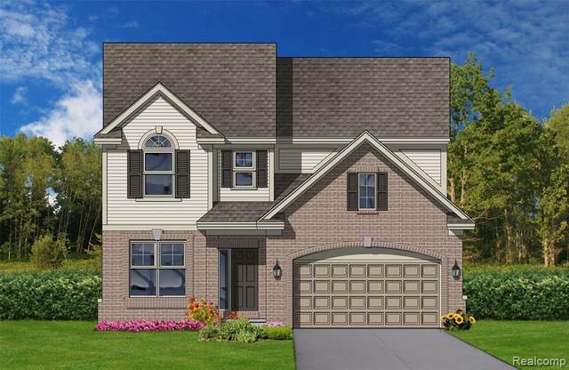4025 Persimmon Drive, Pittsfield Twp, MI 48197 (MLS #2200060484) :: The Toth Team