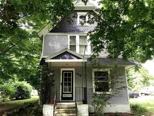 114 Michigan St, VILLAGE OF BROOKLYN, MI 49230 (#55202002097) :: The Alex Nugent Team | Real Estate One