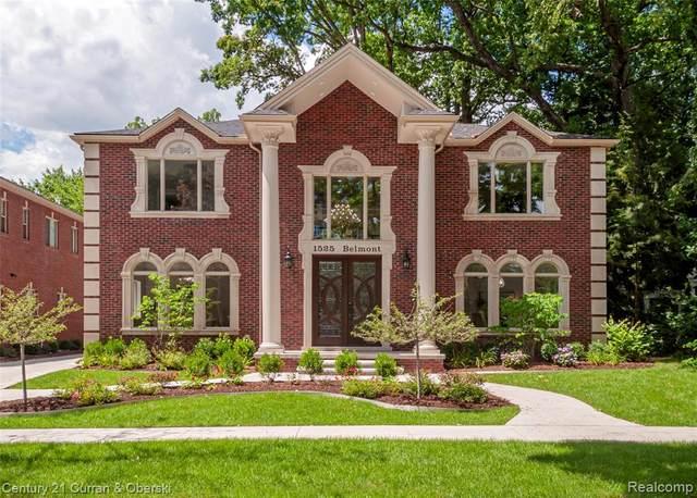 1525 Belmont Street, Dearborn, MI 48128 (#2200060690) :: Novak & Associates