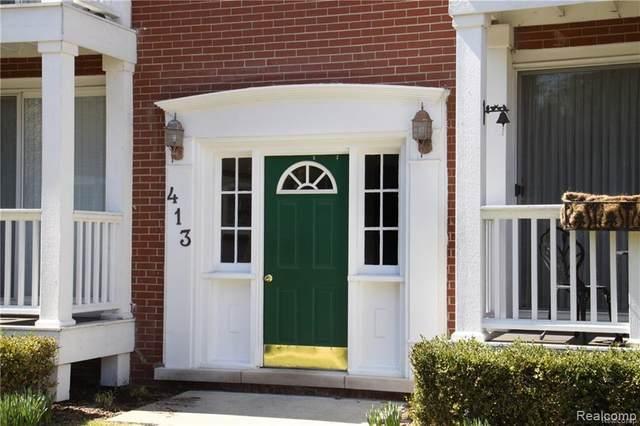 413 N Eton St Apt 208, Birmingham, MI 48009 (#2200060796) :: The Alex Nugent Team | Real Estate One