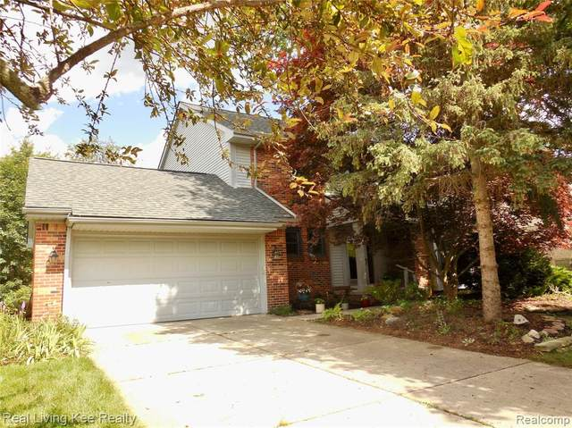 1546 Chevy Circuit, Rochester Hills, MI 48306 (#2200060869) :: The Alex Nugent Team | Real Estate One