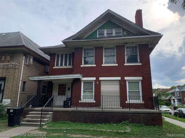 8939 Dexter Avenue, Detroit, MI 48206 (MLS #2200061012) :: The Toth Team