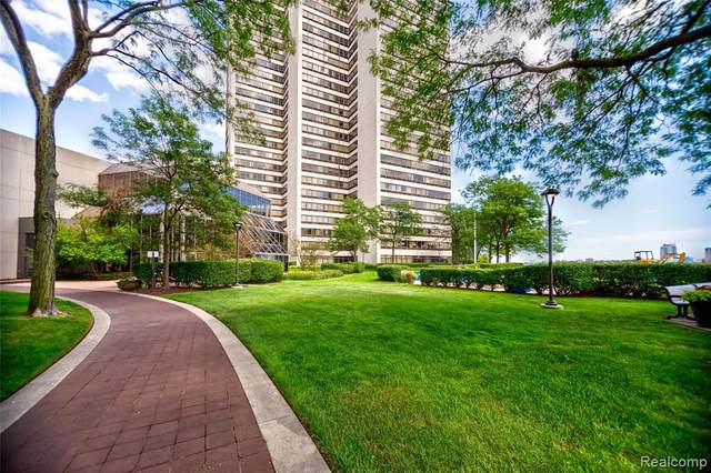 300 Riverfront Drive 22G, Detroit, MI 48226 (MLS #2200061039) :: The Toth Team