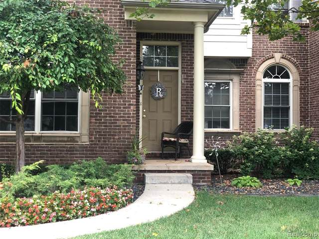45681 N Stonewood Road #59, Canton Twp, MI 48187 (MLS #2200061046) :: The John Wentworth Group