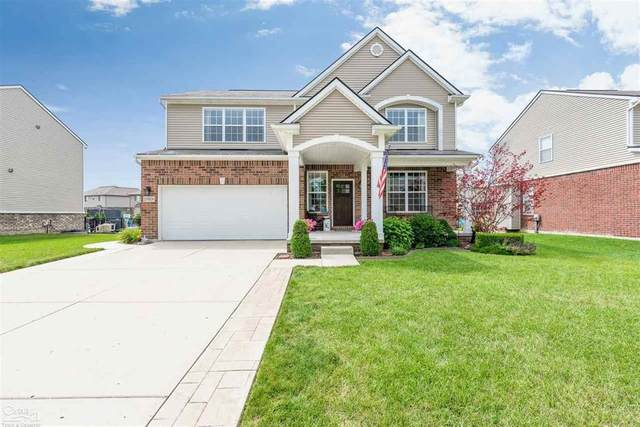 21928 Goldenwillow Dr., Macomb Twp, MI 48044 (#58050019313) :: The Alex Nugent Team | Real Estate One