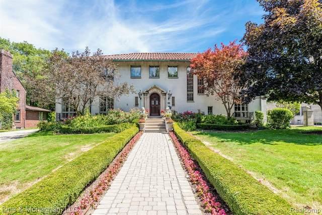 1040 Devonshire Road, Grosse Pointe Park, MI 48230 (#2200061505) :: The Alex Nugent Team   Real Estate One