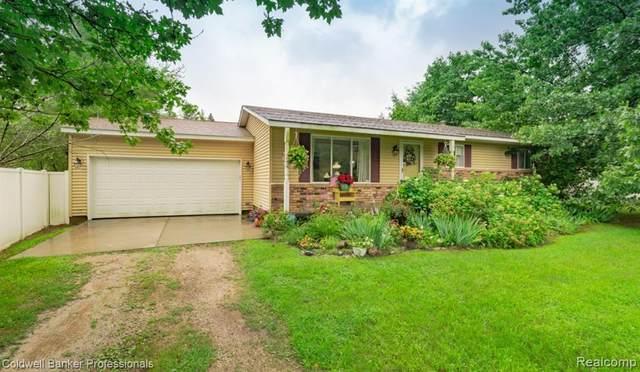 5311 Conifer Drive, Oregon Twp, MI 48421 (#2200061728) :: The Alex Nugent Team | Real Estate One