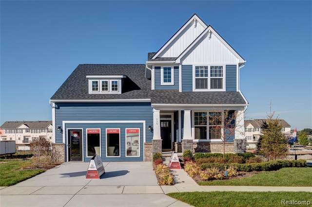 110 Wainwright Street, Novi, MI 48377 (#2200061736) :: The Alex Nugent Team   Real Estate One