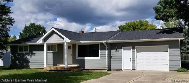 4136 Lapeer St Street, Columbiaville Vlg, MI 48421 (#2200061747) :: The Alex Nugent Team   Real Estate One