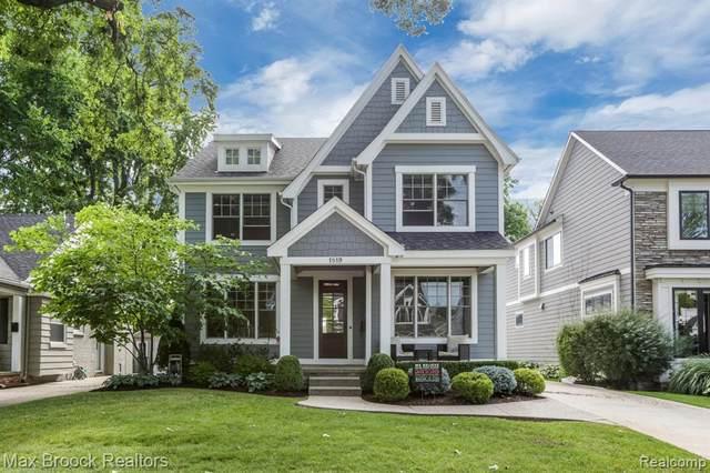 1819 Washington Boulevard, Birmingham, MI 48009 (#2200061848) :: The Alex Nugent Team | Real Estate One