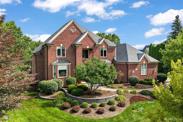 44010 Deep Hollow Circle, Northville Twp, MI 48168 (#2200061853) :: The Alex Nugent Team | Real Estate One