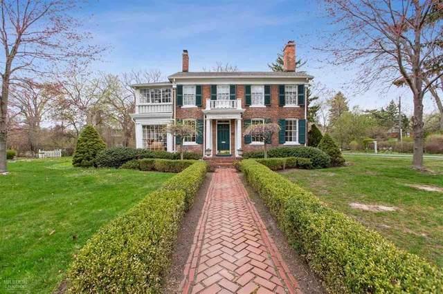 16109 E Jefferson, Grosse Pointe Park, MI 48230 (#58050019482) :: The Alex Nugent Team   Real Estate One