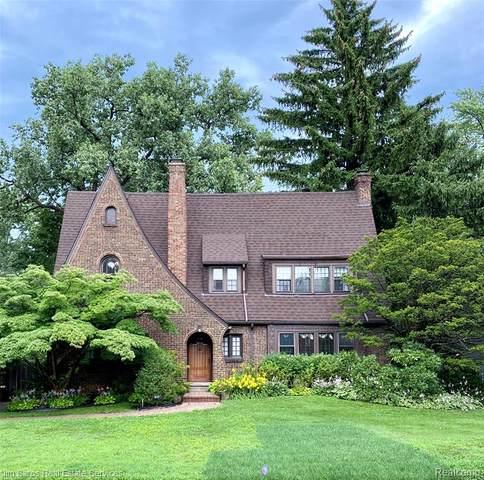 810 Bedford Road, Grosse Pointe Park, MI 48230 (#2200061890) :: The Alex Nugent Team   Real Estate One