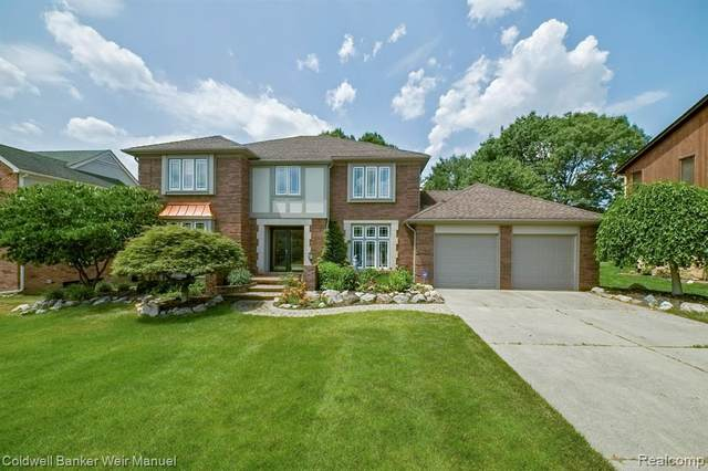 1712 Jason Circle, Rochester Hills, MI 48306 (#2200062108) :: The Alex Nugent Team | Real Estate One