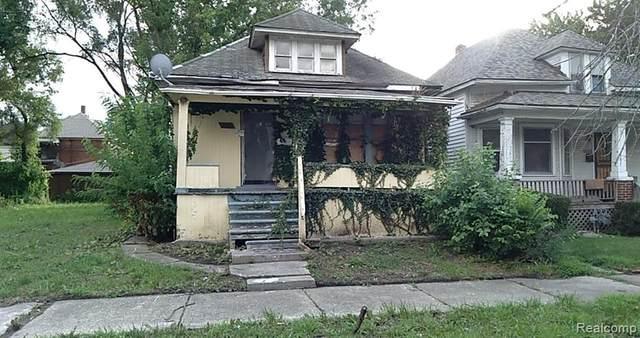 3489 Seyburn Street, Detroit, MI 48214 (MLS #2200062173) :: The Toth Team