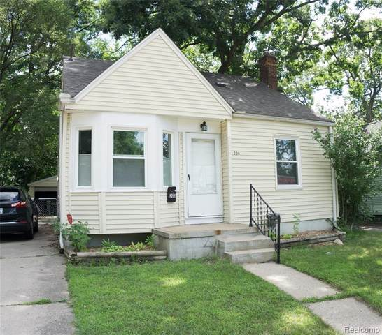 200 Stratford Road W, Ferndale, MI 48220 (#2200062424) :: RE/MAX Nexus