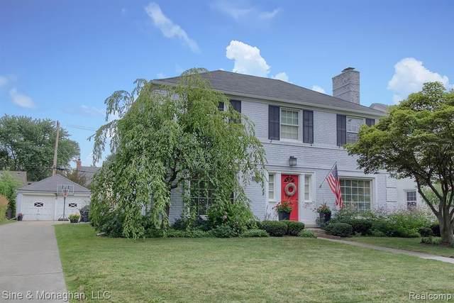 1354 Whittier Road, Grosse Pointe Park, MI 48230 (#2200062437) :: The Alex Nugent Team   Real Estate One