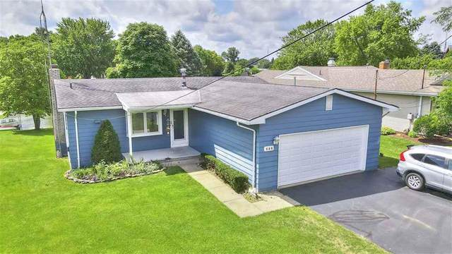 144 E Princess Dr, Columbia, MI 49230 (#55202002170) :: Keller Williams West Bloomfield