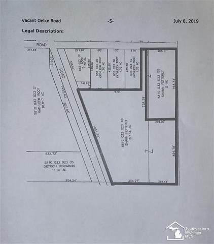 0 Oelke Rd, MAYBEE, MI 48159 (#57050019656) :: Novak & Associates