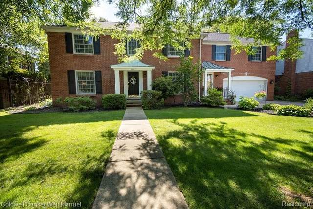 705 Middlesex Road, Grosse Pointe Park, MI 48230 (MLS #2200062616) :: The John Wentworth Group