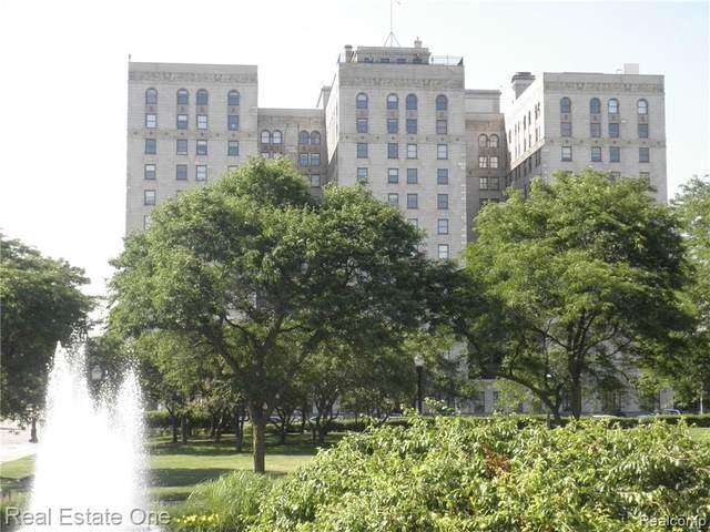 15 E Kirby Street #731, Detroit, MI 48202 (#2200062730) :: Duneske Real Estate Advisors