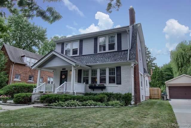 1245 Grayton Street, Grosse Pointe Park, MI 48230 (#2200062816) :: The Alex Nugent Team   Real Estate One